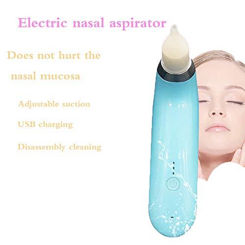 SCYTSD Aspirador Nasal Bebe Electrico, Ayudar a tu Bebé a Dormir y a Respirar Mejor Niveles De Succión De Seguridad y...