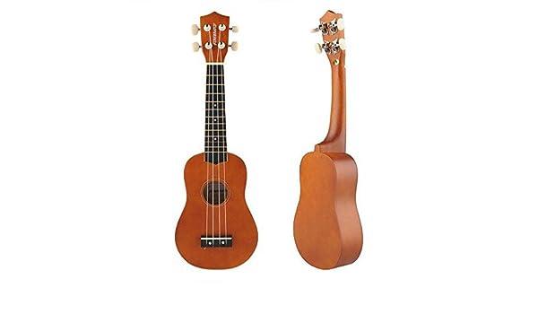 PhilMat Instrumento musical hawaii soprano acústicos 21 pulgadas ...