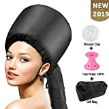 Bonnet Hood Hair Dryer Attachment Set - Soft Adjustable Hooded...