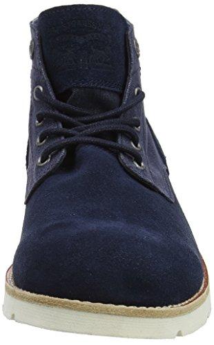 Jax Chukka Uomo Boots Desert Navy Blu Light Stivali Levi's Blue 1pxFwBEdqq