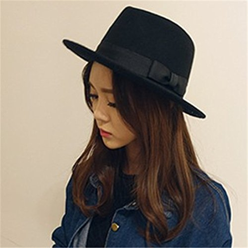 Generic Street beat South Korea in Europe and America British style jazz hat cap flat along Miko woolen felt hats and caps for men and women Korean version of the fall and winter days