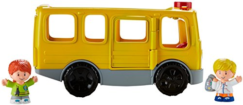 41JDpizyJNL - Fisher-Price Little People Sit with Me School Bus Vehicle