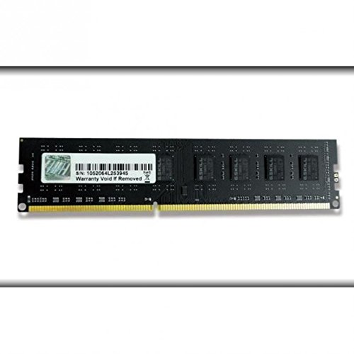 G.SKILL Barrette mémoire RAM DDR3 4Go PC12800 (1600Mhz) (Noir)
