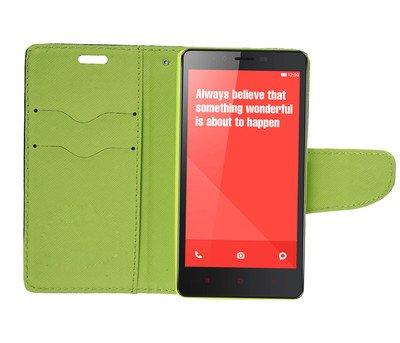 online retailer 07167 c2573 SDO Luxury Mercury Diary Wallet Style Flip Cover Case for Xiaomi Redmi Note  4G/Redmi Note Prime - Blue