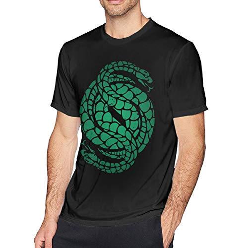 Obagaty Des-Tiny 2 Gambit Logo Men's Classic Short Sleeve T-Shirt Black 3XL