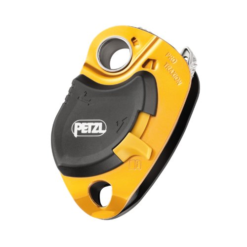 Petzl Pro Traxion Pulley Yellow NO SIZE