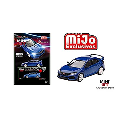 Mini GT New DIECAST Toys CAR 1:64 2020 Civic Type R (FK8) MODULO (LHD)(Aegean Blue) - MIJO Exclusives MGT00017-MJ: Toys & Games