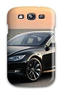 First-class Case Cover For Galaxy S3 Dual Protection Cover Tesla Model S 11