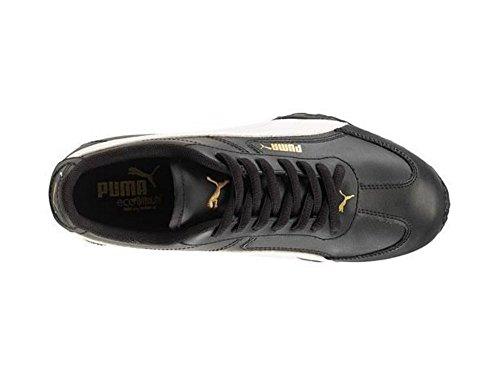 Puma Jr de dientes, color blanco y negro negro