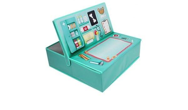 EUREKAKIDS Eureka Kids- Consulta de Hospital y Caja de Almacenamiento 52914833: Amazon.es: Juguetes y juegos