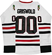 Clark Griswold #00 X-Mas Christmas Vacation Movie Hockey Jersey Stitched Men Ice Hockey Jerseys