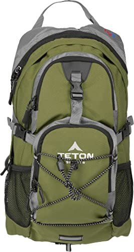 TETON Sports Oasis 1100 Hydration Pack Free 2-Liter Hydration Bladder Backpack design great for Hiking, Running, Cycling, and Climbing