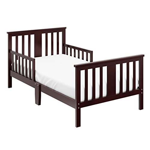 toddler bed in espresso - 2