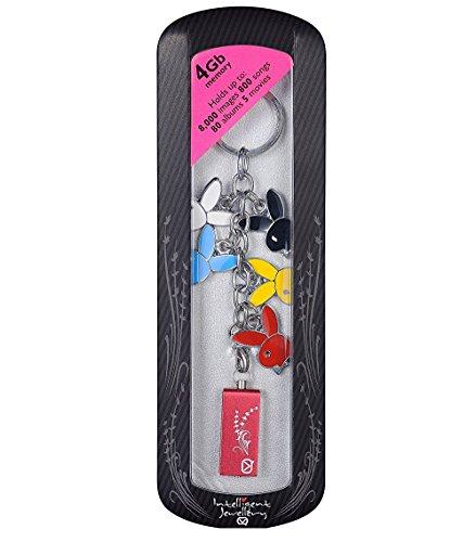 Viewquest Intelligent Jewellery 4GB USB Flash Drive Keyring - Bunny