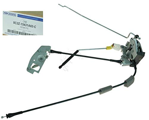Genuine Rear Cargo Door Latch Assy Passenger Side Right Compatible w/Ford Econoline Van Quick Delivery ()
