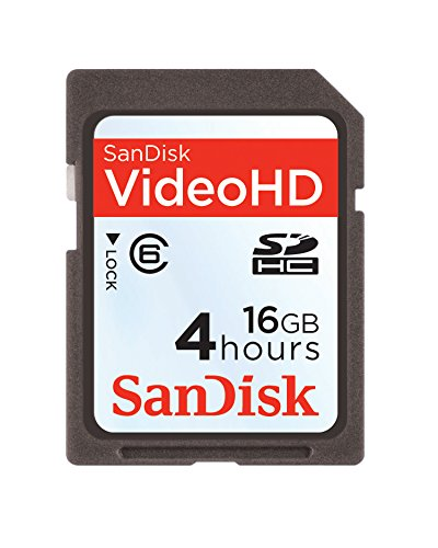 Sandisk Video HD SDHC 16GB Memoria Flash - Tarjeta de ...
