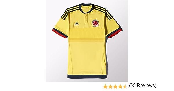 adidas Colombia Casa fútbol Jersey - M62788, BYELLO: Amazon.es ...