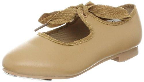 Dance Class T600 Beginner Tap Shoe (Toddler/Little Kid/Big Kid),Camel,9.5 M US Toddler