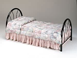 twin size metal bed headboard footboard black finish twin bed with footboard. Black Bedroom Furniture Sets. Home Design Ideas