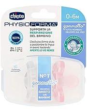 Chicco Physio zachte fopspeen, set van 2