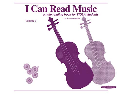 I Can Read Music: For Viola Volume 1 1 Viola Music Book