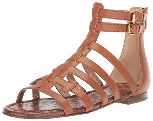 Sam Edelman Women's Berke Sandal, Saddle Leather 9 M US