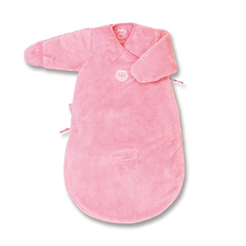 Baby Boum Unisex Baby's Sleeping Bag Softy 0-3 Months Gum (Pink) by Baby Boum