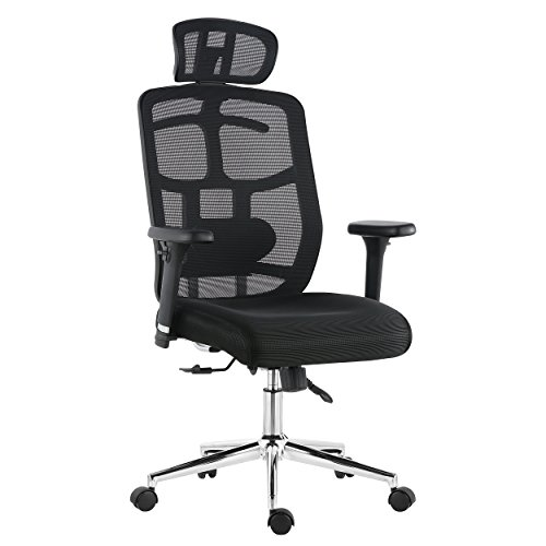 POLY & BARK EM-328-BLK Simmons Office Chair Black