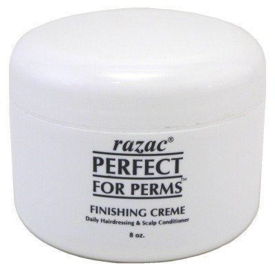 - Razac Haircare Perfect for Perms - Finishing Creme Daily Hairdressing 8 oz. (Pack of 2) by Razac