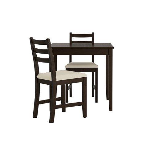 Amazon.com: IKEA mesa y 2 sillas, café, vittaryd Beige ...