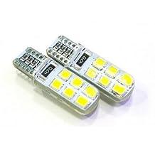 Best to Buy® (6-PACK) T5/T10 2-Watt LED Bulb 12-30V AC/DC, 12SMD2835 2W Warm White Color (Jc10 Bi-pin 10-18w Replacement)