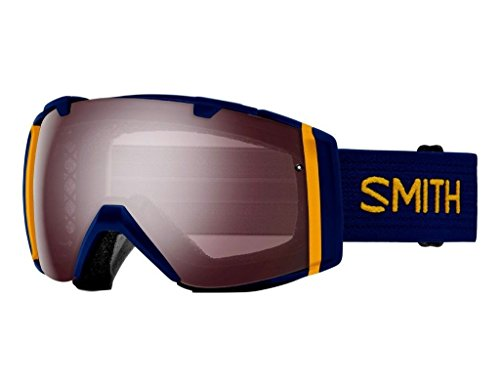 Smith Optics I/O Adult Snowmobile Goggles Navy Scout / Ignitor Mirror by Smith Optics