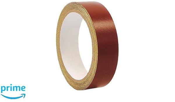 5 mil w// Silicone Adhesive 1//2 inch x 36 yards PTFE Coated Fiberglass Cloth Tape Teflon