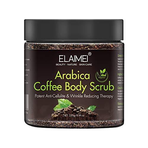AutumnFall 300g Face Scrub Exfoliate Body Scrub Remove Cellulite Stretch Marks Scrub,Remove Excess Cuticle, Remove Dead Skin, Anti-Wrinkle and Anti-Aging (A)