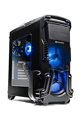 SkyTech Rampage - Gaming Computer PC Desktop – Ryzen 5 1600 6-Core 3.2 GHz, NVIDIA GeForce GTX 1060 3GB, 500G NVMe PCIe SSD, 8GB DDR4, AC WiFi, Windows 10 Home 64-bit