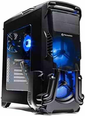 SkyTech Rampage - Gaming Computer PC Desktop - Ryzen 5 1600 6-core 3.2 Ghz, NVIDIA GeForce GTX 1060 3GB, 500G NV Me PCIe SSD, 16GB DDR4, AC WiFi, Windows 10 Home 64-bit (16GB Version)