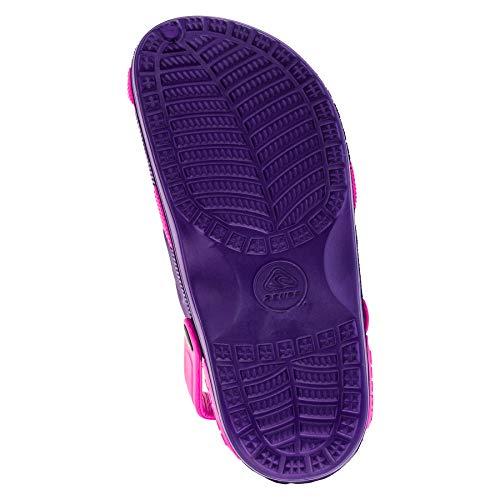 Para Sintético Pink Zuecos 2surf De M192lipi Lila Mujer Material FI4wafxq