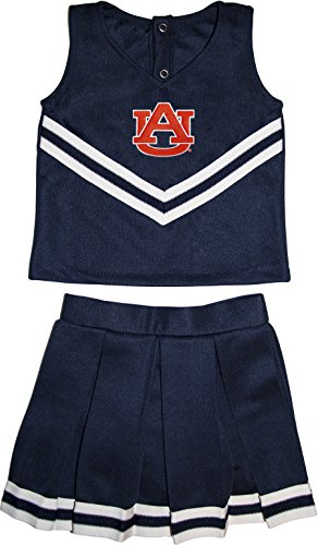 Auburn University Tigers Toddler and Youth 3-Piece Cheerleader