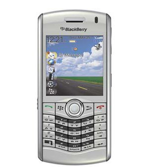 "BlackBerry Pearl 8130 2.1"" LCD Dual-Band CDMA Bluetooth 2MP Camera Smartphone w/QWERTY Keyboard Verizon (Silver)"