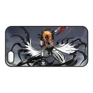 Generic hard plastic Bleach Anime Cell Phone Case for iPhone SE 5 5S Black B1130