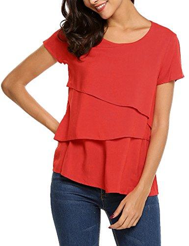Layered Crewneck T-Shirt - 3