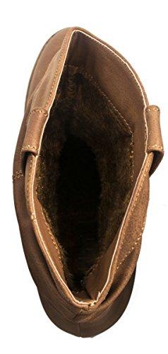Elara - Botas De Vaquero Mujer Beige Camel