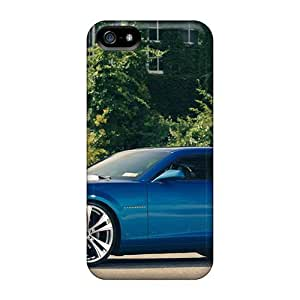 Durable Case For The Iphone 5/5s- Eco-friendly Retail Packaging(blue Camaro)
