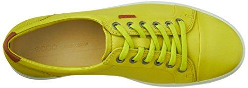 ECCO Damen Soft 7 Tie Fashion Sneaker Schwefel