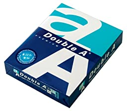 Double A Copy Paper, 8.5 x 11 Inches Letter Size, 22 lb. Density, 94 Bright White, 500 Sheets (AA 22# Single Ream)
