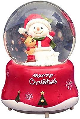 Childlike Bola De Nieve Navidad Globo De Nieve Cristal Bola De ...
