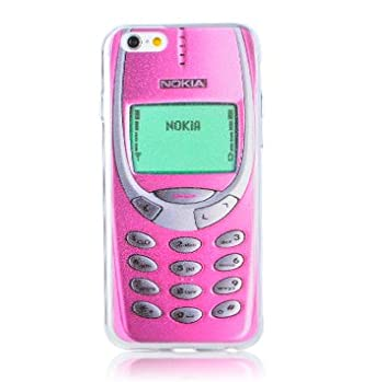 reputable site 3889d b19e3 Hipster Retro Nokia Old School Funny Clear Hard Tpu Case for Iphone ...