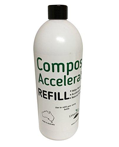 1l Refill Bottle - Exaco Trading Company UCAC-refill Exaco Accelerator, 1 LITER, Refill Bottle