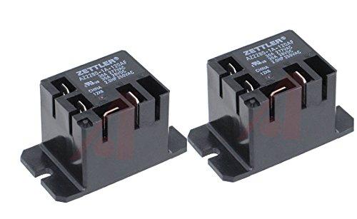 Zettler Mini Power Relay SPST 120V 30A AZ2280-1A-120AF (Pack of ()
