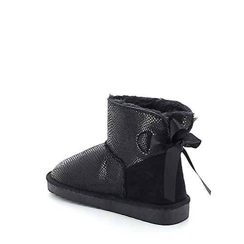 Misstic - Botas de Lona Mujer negro